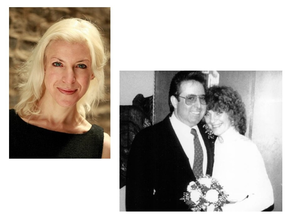 Professor Bethany Barratt & Ray Siegel with his late wife Trisha