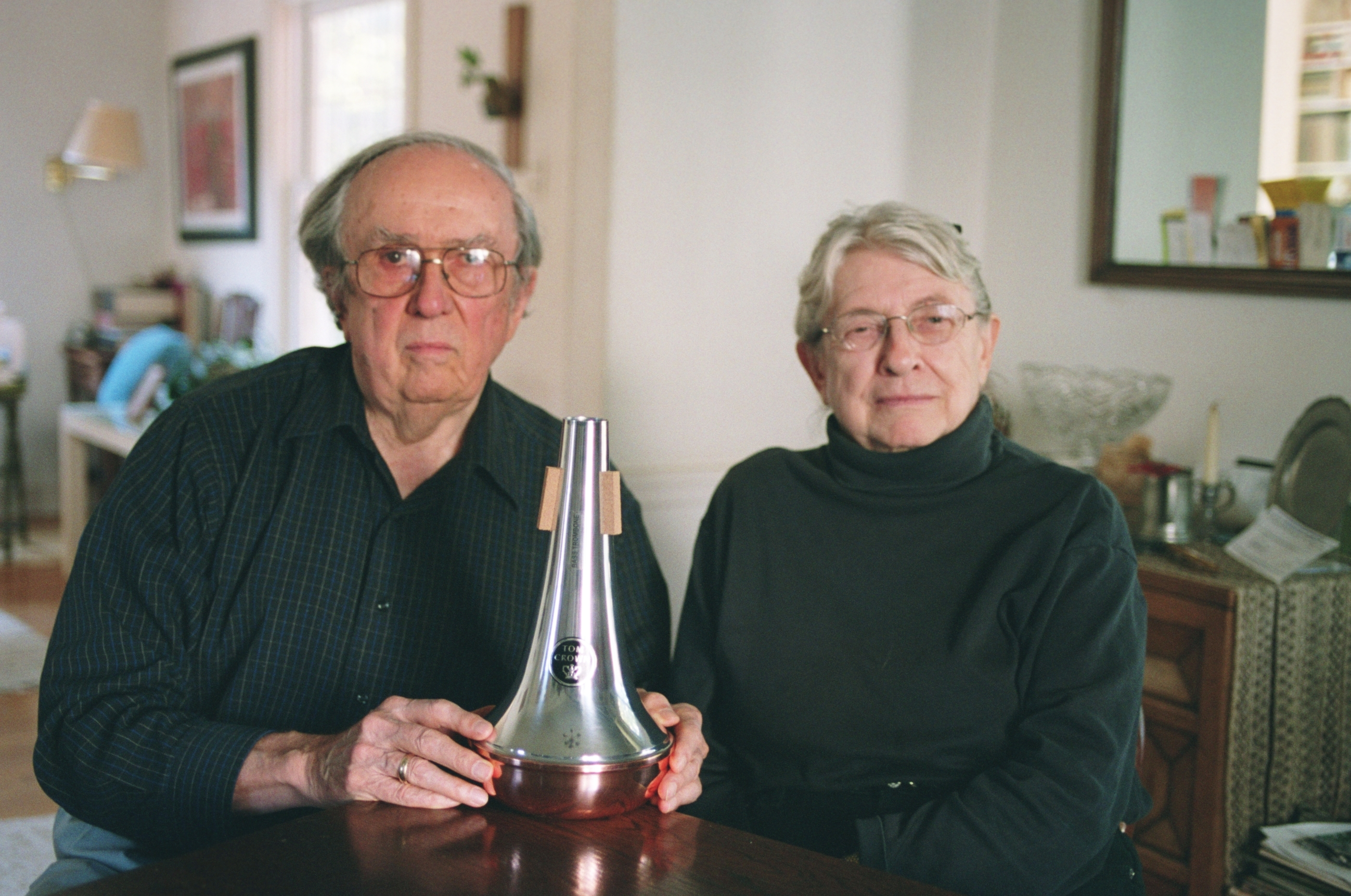 thomas crown with wife donna